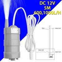 12 V Pumpe Megnetisch Wasserpumpe Boot Tauchpumpe 600L/H 1000L/H Bürstenlos