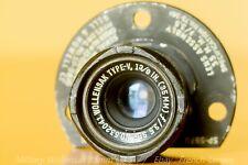 Wollensak aerial military lens 35mm f/3.5 [Dallmeyer // Angénieux]