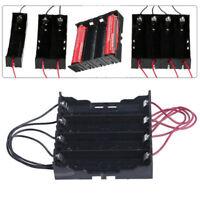 Akku Halterung Batteriehalter Kunststoff Case für 1/2/4x 18650 Batterie HalterGE