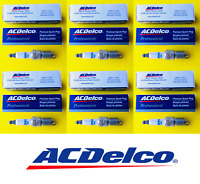 New Set of 6 ACDELCO Double Platinum Spark Plug For General Motors - MADE IN USA