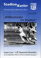 RL 1995/96 Bischofswerdaer FV - 1. FC Dynamo Dresden, 24.09.1995