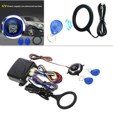 Car Rfid Lock Keyless Start Stop Tactile Button Engine Push Start Button Alarm