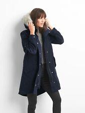 Gap Women's 2-in-1 quilted parka Jacket, dark night SIZE XXL       #842822 v1022