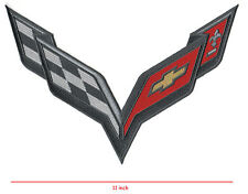 Corvette Racing Team Super Sports Logo Patch: RACING JACKET BACK C-7 Large 11""