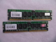 2 x Mémoire TRANSCEND - 1 Gb / DDR2-533 REG / PC2-4200 ECC Unbuffered
