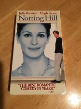 Notting Hill VHS.  Super Cute And Funny Movie.  Julie Roberts