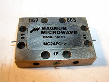 MAGNUM MICROWAVE Double Balanced Mixer GHz PIN IN AND OUT MODEL MC24PG-2