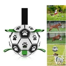 New listing Dog Toys Interactive Pet Football Toys with Grab Outdoor Water Sports Chew Ball