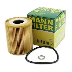 Mann-filter Oil Filter HU818X fits LAND ROVER RANGE ROVER L322 3.0 D 4x4