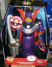 Disney Store Emperor Zurg Talking Action Figure 15'' Toy Story 14 Phrases