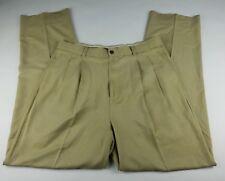 Tommy Bahama Mens Khaki Silk Pants - Size 34