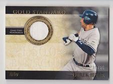 DEREK JETER 2012 Topps Gold Standard Relics Jersey #D 35/50 New York Yankees SP