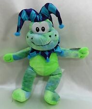 "16""  Frog Toad Court Jester  Plush Stuffed Animal Peek A Boo Toys  New"