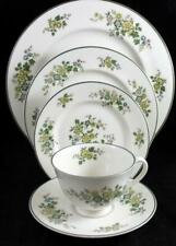 Royal Doulton Campagna Green 5 Piece Place Setting Tc1078 Great Condition