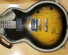 ZZ Top Billy Gibbons Signed Autographed Epiphone Guitar Special Model
