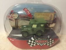 CARS Disney Store 2006 Series 1 TALKING Sarge!
