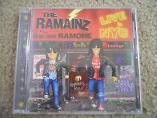RAMAINZ ~ LIVE IN N.Y.C. ~ PROMO CD / LIKE NEW ~DEE DEE RAMONE/MARKY/JOEY/JOHNNY