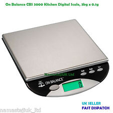 3000G X 0.1G TABLE TOP SCALES ON BALANCE BENCH SCALE COMPACT 3KG ALL PURPOSE