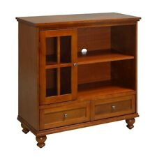 Convenience Concepts Tahoe Highboy TV Stand, Cherry - 8067000CH