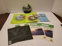GRAND THEFT AUTO V 5  XBOX 360 GAME  w/MANUAL & MAP. Plus GTA IV ( disc only)