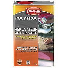 POLYTROL 1 L, RÉNOVATEUR PLASTIQUES GELCOAT TOUS MATERIAUX