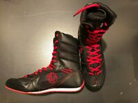 Day Kay Boxing Speed-Flex Encore High Length Boxing Shoes - Black Wrestling MMA