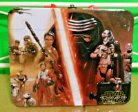 Star Wars The Force Awakens Tin 3D Graphic Kids Collectible Lunch Box