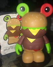 DISNEY 3'' VINYLMATION Urban Series 3 Hamburger Cheeseburger Burger