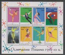 Azerbaijan - 1997, Winter Olympic Games. Japan sheetlet - MNH - SG 422/9
