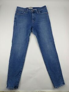 Madewell Womens Jeans Size 32 Skinny High Rise Distressed 5 Pocket - AK9