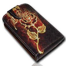 Design 4 funda con lengüeta Cover Case Handy para Samsung s6810 s6810p Galaxy Fame