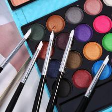 5Pc Silicone Women's Nail Art Design Stamp Pen Brush UV Gel Carving Craft Pencil