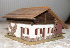 K31 Faller  286 Blockhaus ca 20x8,5 Holz 50 er Jahre