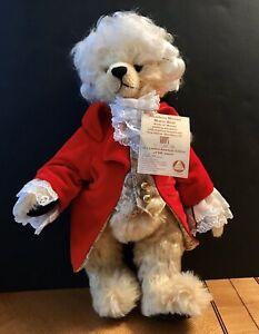 Hermann Amadeus Mozart Mohair Music Bear Limited American Edition 30/500 Pieces