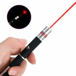 Professional 10miles Red Laser Pen Powerful Pointer 1mW Lazer Pen 650 532 303nm