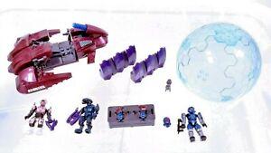Mega Bloks 2012 Halo Reach #96982 Covenant Revenant Attack Armory Bubble Shield