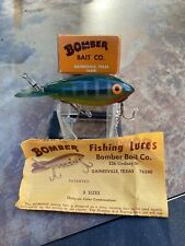 New listing Awesomevintage Bomber Fishing Lure In Original Box With Catalog! Great Color!