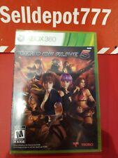 Dead or Alive 5 (Microsoft Xbox 360, 2012) Brand New