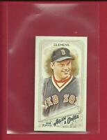 Roger Clemens ⚾ 2018 Topps Allen & Ginter MINI A & G BACK Card ⭐ Boston Red Sox