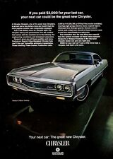 1969 Chrysler Newport 2-door Hardtop PRINT AD