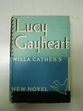 Willa Cather Lucy Gayheart First Edition in jacket 1935