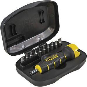 NEW-NIB - Wheeler Digital FAT Torque Wrench w/ 10 Bits & Case # 1056502