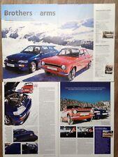 Ford Escort Mexico Custom (Mk1) vs Escort Cosworth Rl - Classic Test Article
