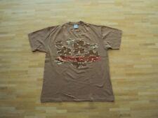 Original Stüssy USA Shirt Flower Print T-Shirt Skateboard Blumen Druck Gr.: L