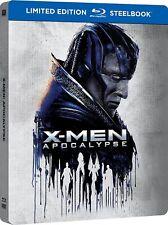 X-Men: Apocalypse Steelbook (Blu-ray, 2016) Import Region B/2 NEW