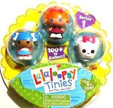 New Lalaloopsy Tinies Mini Figure Series1 Bea Spells a Lot Mittens Fluff n Stuff