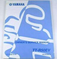 Factory OEM Yamaha 2005 TTR50EV TT-R 50 Owners Service Manual LIT-11626-19-16