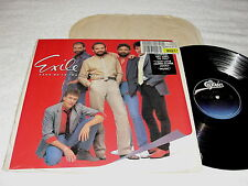 "Exile ""Hang On To Your Heart"" 1985 Rock LP,VG,Vinyl,Orig Epic Press, Shrink+Hype"