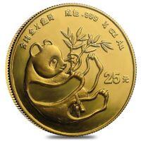 1984 1/4 oz Chinese Gold Panda 25 Yuan BU (Sealed)