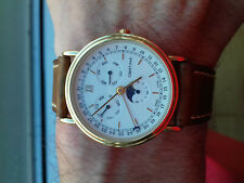 Certina Moon-Phase Eol 225.1174.25 Vintage Collection Watch NOS Montre Swiss Uhr
